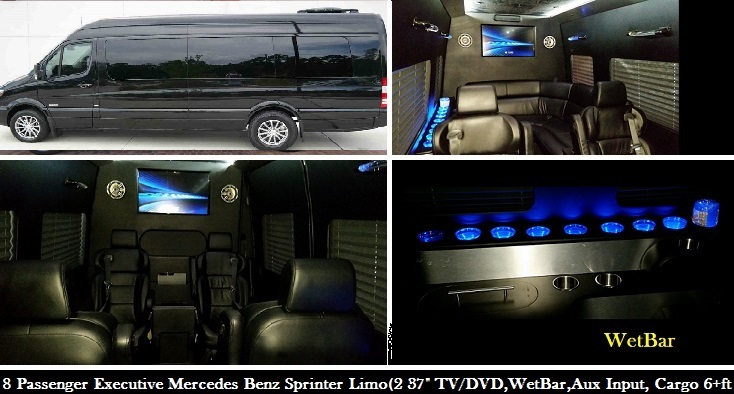 Atlanta Sprinter limo Rental